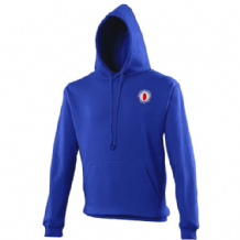 Taughmonagh FC Hoodie- Royal Blue ADULTS
